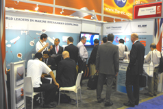 Gall Thomson OTC Houston 2013 busy stand