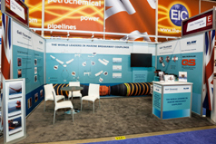 Gall Thomson OTC Houston 2013 stand