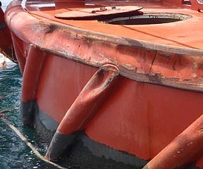 SPM vessel collision damage