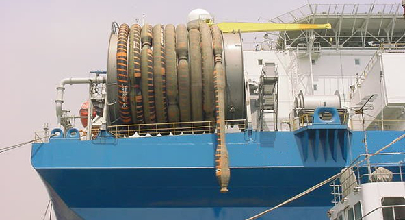 rear fpso and hose reel